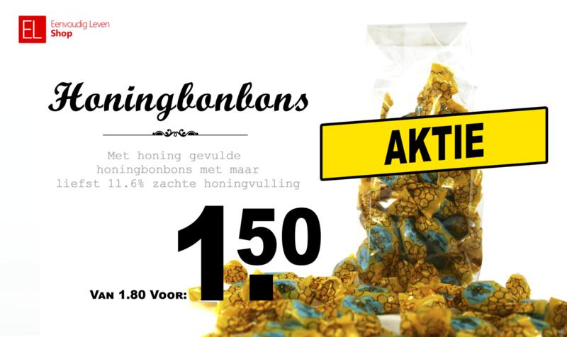 Honingbonbons 150 gram AKTIE