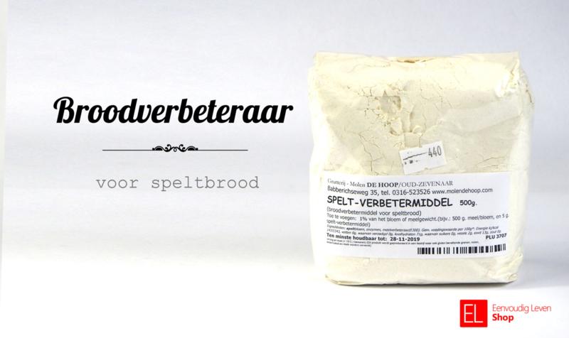 Broodverbeteraar voor speltbrood