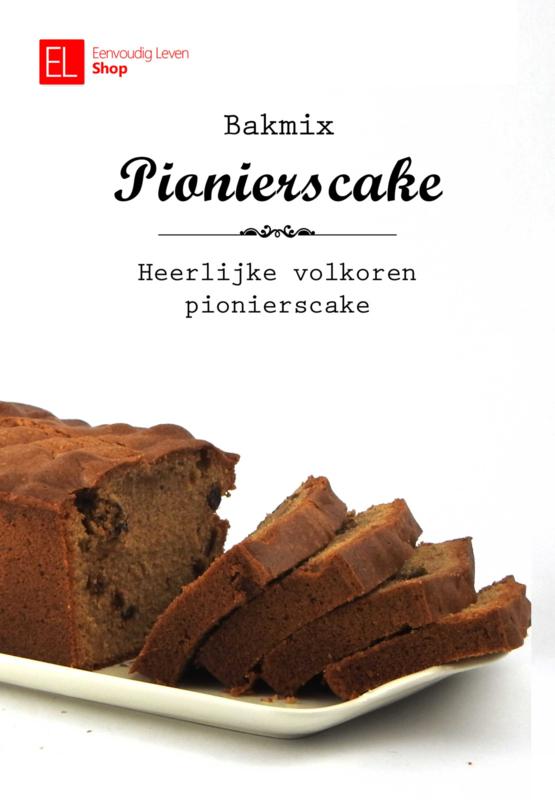 Bakmix - Cakemix - Volkoren PioniersCake - 600 gram
