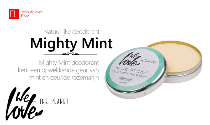 Deodorant - We Love the Planet - Mighty Mint
