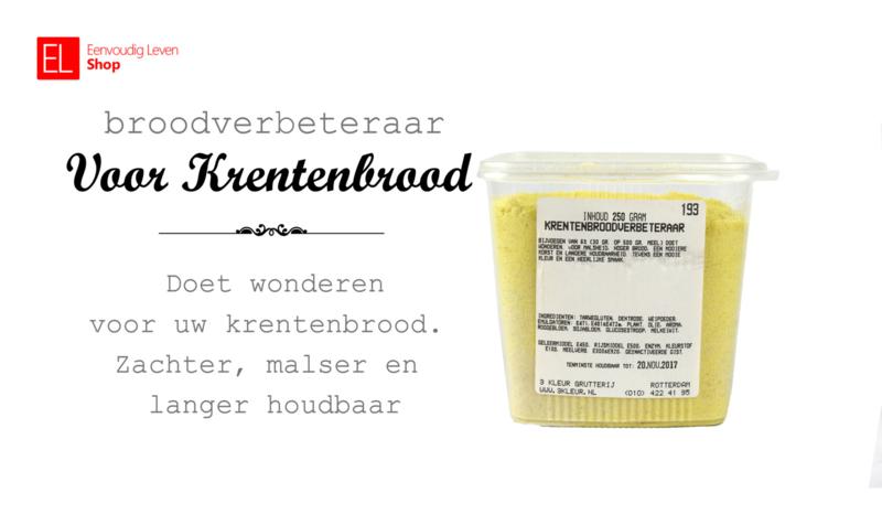 Broodverbeteraar - Voor krentenbrood - 250 gram