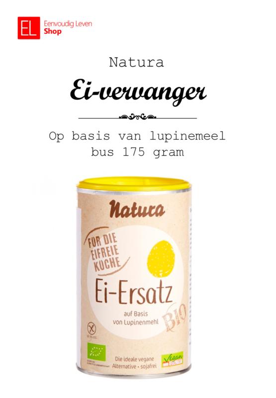 Ei-vervanger - op basis van lupinemeel - bus 175 gram