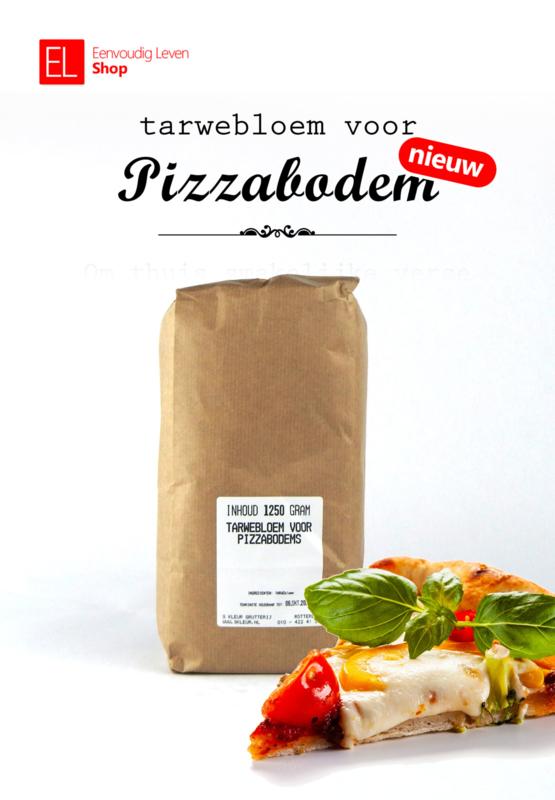 Basisproduct - Tarwebloem voor Pizzabodem -  1250 gram