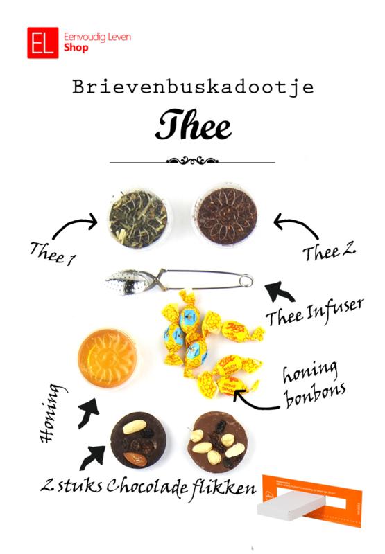Brievenbuskadootje - Thee