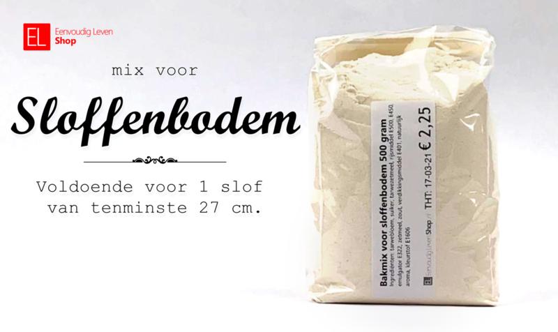 Bakmix - Sloffenbodem - 500 gram