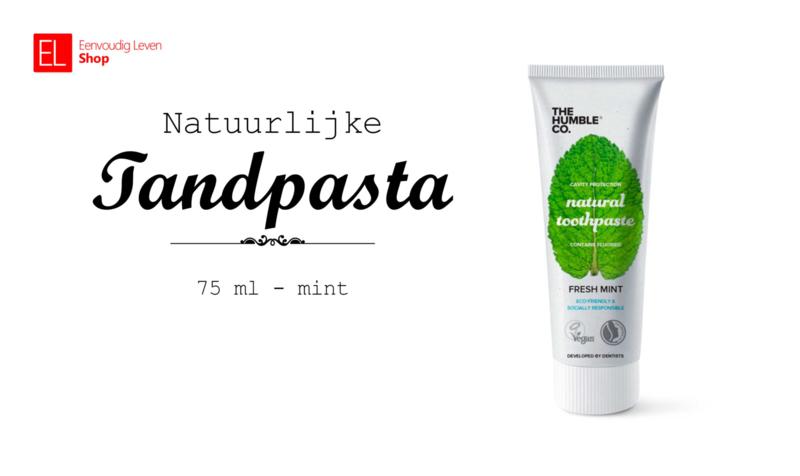 Tandpasta - Natuurlijke - Mint - 75 ml