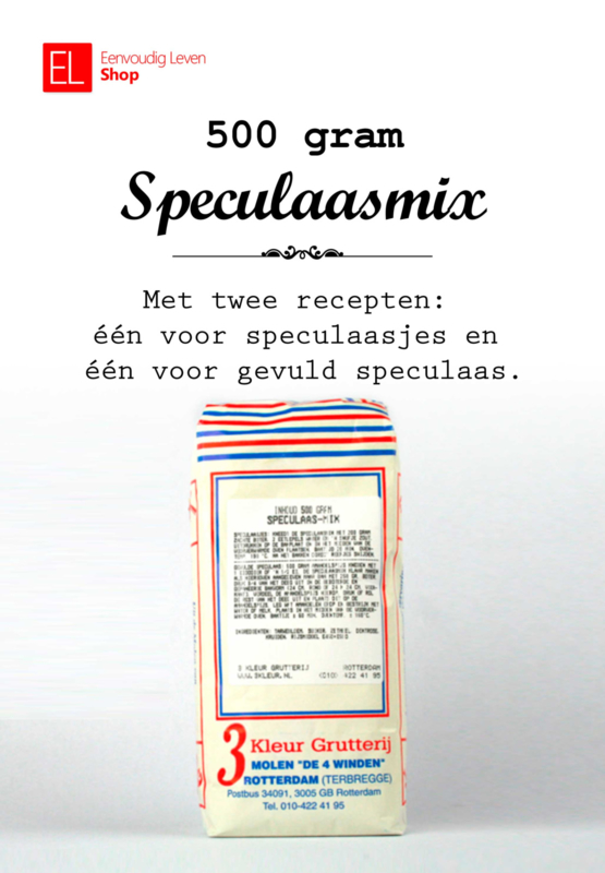 Bakmix - Speculaas - 500 gram