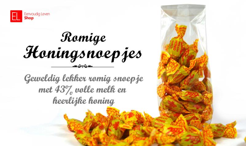 Honingsnoepjes romig 150 gram