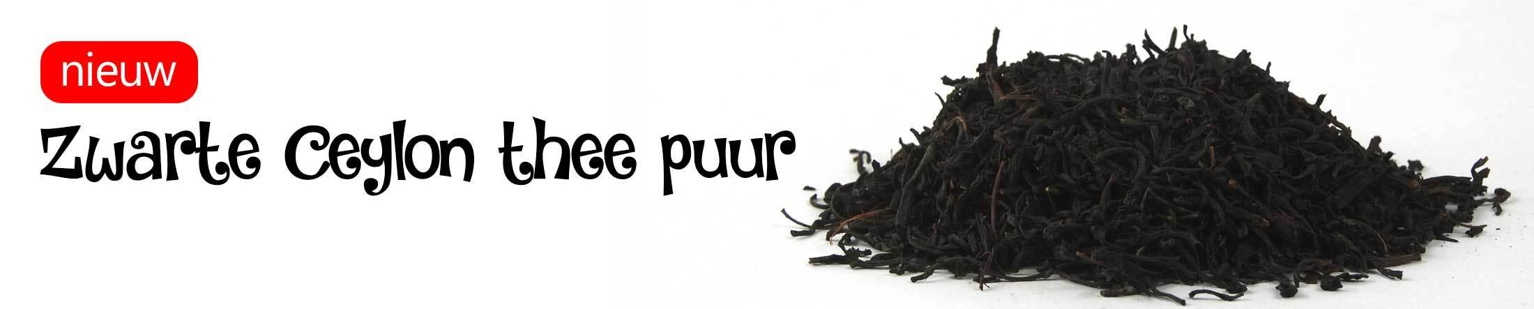 Zwarte thee Ceylon puur