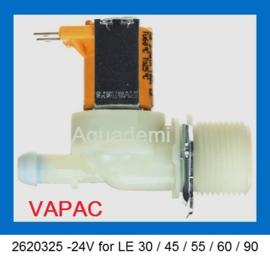 Inlaatventiel voor VAPAC LE30 / LE45 / LE55 / LE60 / LE90