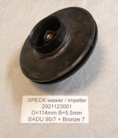 Waaier BADU 90/7 - BADU brons 7 - BADU 40/7