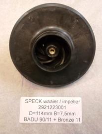Waaier BADU 90/11 - BADU brons 11 - BADU 40/11