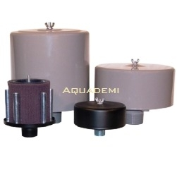 Filter silencer suction filter