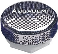 Suction Cap Stainless steel 2,5''