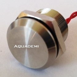 Piezo button Stainless steel 316