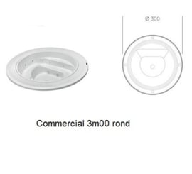 Commercial Spa 3m00 round