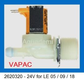Inlaatventiel voor VAPAC LE05 / LE09 / LE18