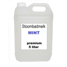 Stoombadmelk Mint 5 liter