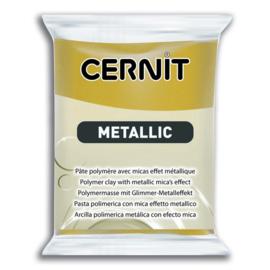 CERNIT METALLIC, 56GR - RICH GOLD 053