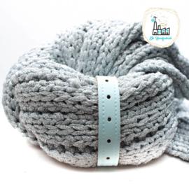 Sjaal Riempje Licht Blauw 23 cm
