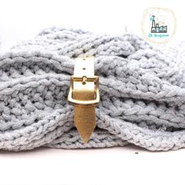 Sjaal Riempje Goud 23 cm