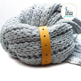 Sjaal Riempje Oker 23 cm