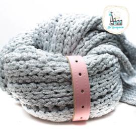 Sjaal Riempje Zacht Roze 23 cm