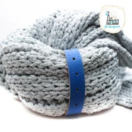 Sjaal Riempje Kobalt Blauw 23 cm