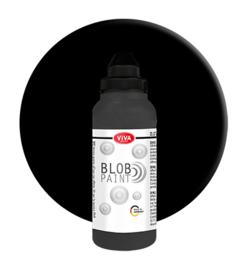 Blob Verf Zwart