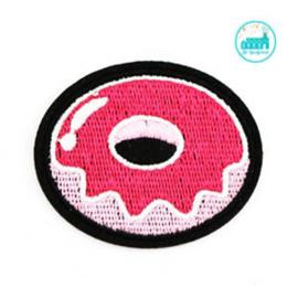 Applicatie / Patch Donut 5 cm x 4 cm