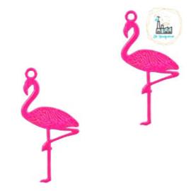 Bedel bohemian flamingo Neon raspberry pink 22 mm x 11 mm