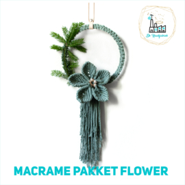 Macrame Patroon  Flower