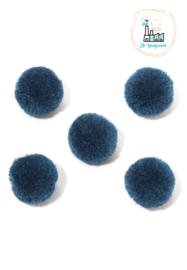 Pompon 20MM Donker Blauw