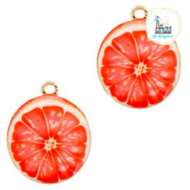 Grapefruit Charm 25 mm x 21 mm