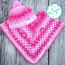 Crochet Pattern Baby Poncho