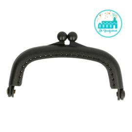 Portemonnee Sluiting Zwart 8,5 cm