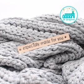 Especially made for you  Leren Label Bedrukt