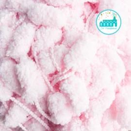 Rico Creative Pompon Yarn Soft Pink 5m