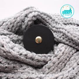 Sjaalsluiting  Zwart