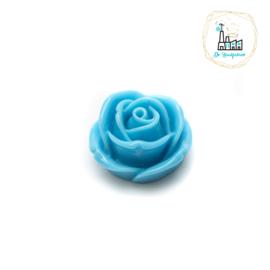 Roosjes Kraal 16MM Licht Blauw