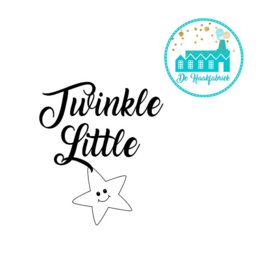 Big Labels 8 cm x 3 cm Twinkle Little Star