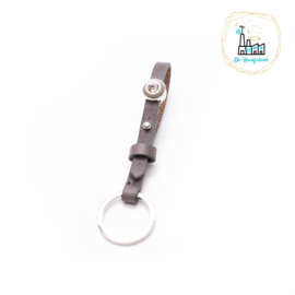 The Dutch Bracelet Factory Sleutelhanger 7843 Grey