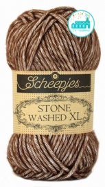 Scheepjes Stone Washed XL - 862 - Brown Agate