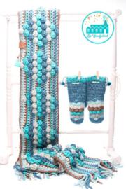 Haakpakket Sky Blue Sjaal