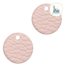 Mini Label Rond 17 MM Vintage pink
