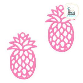 Bedel Bohemian ananas pink  19 mm x 12 mm