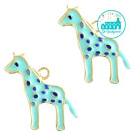 Charm Giraffe Aqua 20 mm x 13 mm
