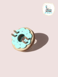 Donut Pom Maker Blue Frost