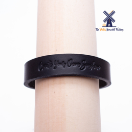 Leren Armband CREATE YOUR OWN SUNSHINE 15MM