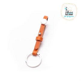 The Dutch Bracelet Factory Sleutelhanger 7855 Orange